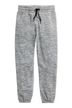 Fleece trousers - Dark grey marl - Kids | H&M CN 2